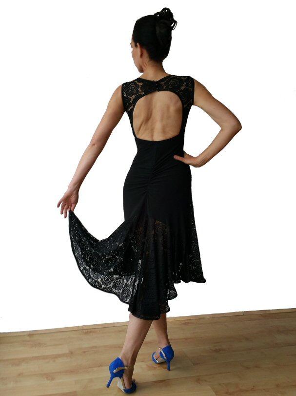 dancewear dress lace dress Argentine tango