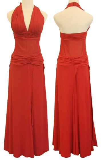 1a466e793835 High Slit skirt evening dress in Sales Department